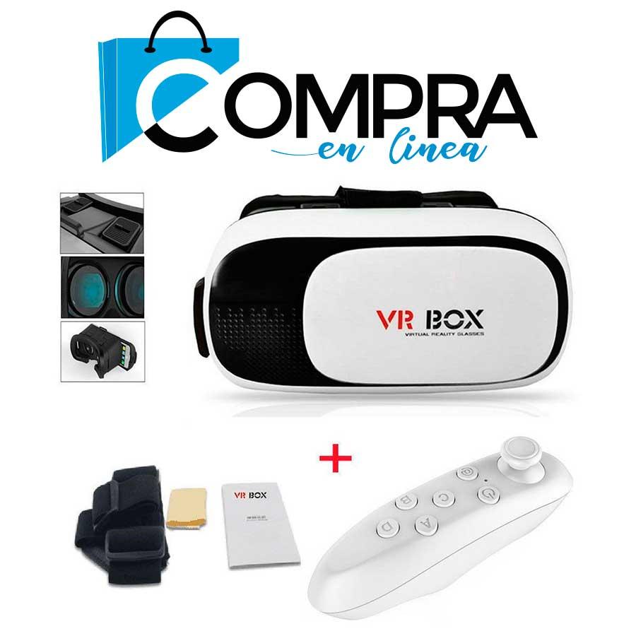 Gafas Vr Box Realidad Virtual Juegos Videos Control Compra En Linea